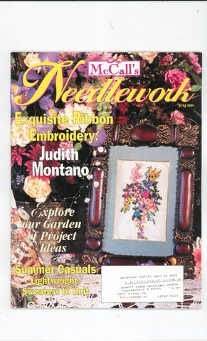 McCall's,Needlework,June,1995,McCall's Needlework,June 1995,kg krafts,knit, patterns,crochet