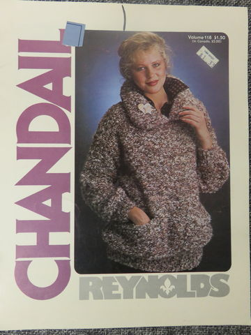 Reynolds,Vol,118,Chandail, Reynolds Vol 118 Chandail,knit,crochet,kg krafts,quilting,fabric,sewing,patterns