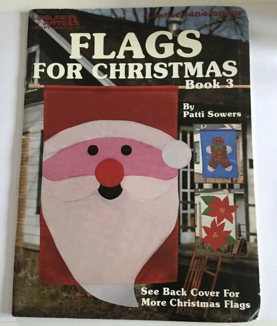 Leisure Arts Booklet 1464 Flags for Christmas book 3 - product images