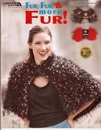 Leisure,Arts,Booklet,3774,Fur,and,More,Leisure Arts Booklet 3774 Fur Fur and More Fur, needlework, cross stitch,knit,crochet,sewing