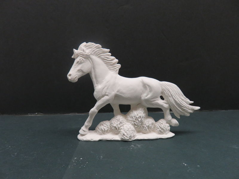 Mustang Ceramic Bisque ready to paint - product images