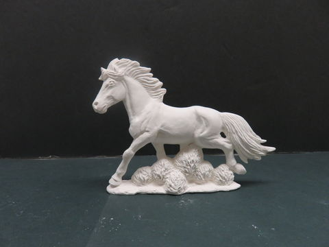 Mustang,Ceramic,Bisque,ready,to,paint, horse, ceramic bisque, ready to paint,kg krafts,shower favors,nowell molds
