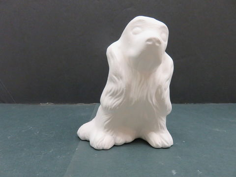 Cocker,Spaniel,Duncan,Molds,Unfinished,Ceramic,Bisque,ready,to,paint,cocker spaniel,ceramic bisque,ready to paint,ceramics, bisque,kg krafts,labrador,collie,puppy,dog,duncan molds