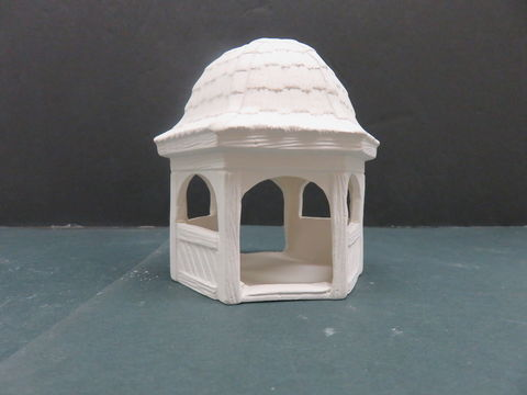 Gazebo,VIP,Molds,in,Ready,to,Paint,Ceramic,Bisque, Gazebo VIP Molds  in Ready to Paint Ceramic Bisque,ceramic bisque,ready to paint,ceramics, bisque,kg krafts,teddy bears, cuddle bears,clay magic