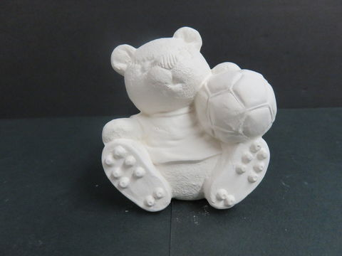 Sports,Bear,Soccer,Gare,Molds,in,Ready,to,Paint,Ceramic,Bisque,calendar bunny, Sports Bear Soccer  , gare Molds  in Ready to Paint Ceramic Bisque,ceramic bisque,ready to paint,ceramics, bisque,kg krafts,teddy bears, cuddle bears,clay magic