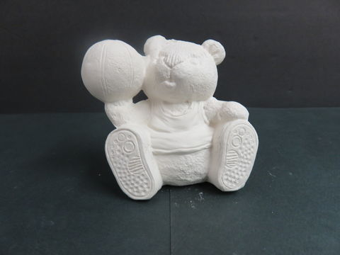 Sports,Bear,Basketball,Gare,Molds,in,Ready,to,Paint,Ceramic,Bisque,calendar bunny, Sports Bear Basketball , gare Molds  in Ready to Paint Ceramic Bisque,ceramic bisque,ready to paint,ceramics, bisque,kg krafts,teddy bears, cuddle bears,clay magic