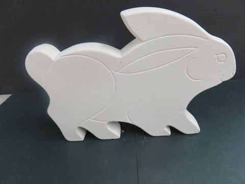 Flat,Bunny,Ready,to,Paint,Ceramic,Bisque,Flat Bunny, Ready to Paint, Bisque,kgkrafts