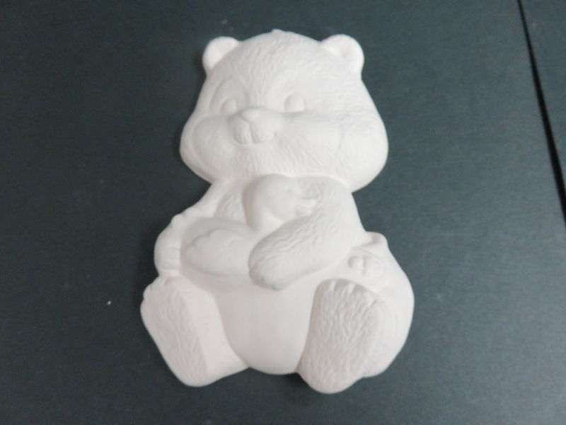 Baby Bear Ready to Paint Ceramic Bisque - product images