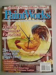 PaintWorks,July,2002,Special,Convention,Issue,Decorative,Painters,Magazine, July 2002,Special Convention Issue, Decorative Painters Magazine,kg krafts, decorative painting,painting,home decor,crafts,magazine