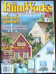 PaintWorks,July,2003,Decorative,Painters,Magazine, July 2003, Decorative Painters Magazine,kg krafts, decorative painting,painting,home decor,crafts,magazine