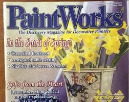 PaintWorks,May,2003,Decorative,Painters,Magazine,may 2003, Decorative Painters Magazine,kg krafts, decorative painting,painting,home decor,crafts,magazine