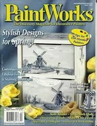 PaintWorks,April,2003,Decorative,Painters,Magazine,April 2003, Decorative Painters Magazine,kg krafts, decorative painting,painting,home decor,crafts,magazine