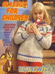 Classics,for,Children,volume,835,Brunswick,Classics for Children volume 835,brunwick,Sports Weight yarn,patterns,sweaters,children,kg krafts