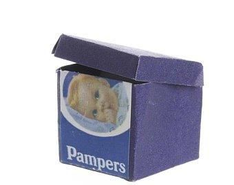 Baby,Diapers,Dollhouse,Miniature,1:12,scale,My Miniature World Shop,doll house miniature,baby furniture, baby nursery, bathroom, diapers, doll house, dollhouse, dollhouse miniatures, miniatures, my miniature world shop