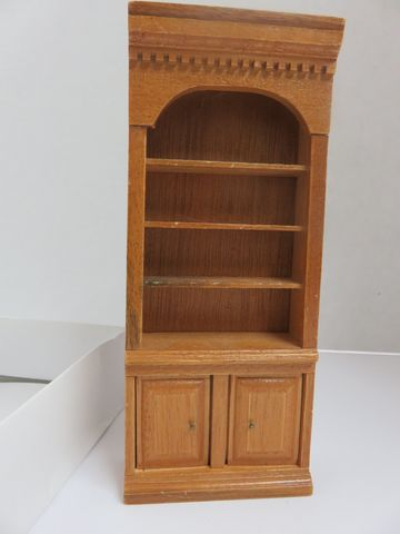 2,Door,3,Shelf,Curio,Cabinet,My Miniature World Shop,kg krafts,miniature curio cabinet,curio cabinet,cabinet,doll house,dollhouse,miniatures