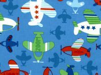 Quilting,Fabric,Kid's,Time,Planes,Quilting Fabric Kid's Time Planes ,choice fabrics,blenders, Quilt, Collection,kg krafts,sewing,cotton,quilting,fabric,home decor