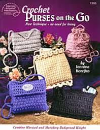 American,School,of,Needlework,Crochet,Purses,on,the,Go,no,1305,American School of Needlework Crochet Purses on the Go  no 1305,kg krafts,knit,crochet
