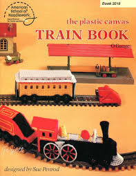 Plastic,Canvas,Train,Book,O,Gauge,by,Sue,Penrod,Plastic Canvas,Train Book O Gauge,Sue Penrod,american school of needlework,kg krafts,needlepoint