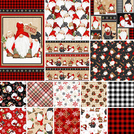 Timber,Gnomies,Collection,from,Henry,Glass,Fabric,fabric,timber gnomies,Shelly Comiskey, Simply Shelly Designs,henry glass,quilting fabric,quilting,home decor,quilt maker