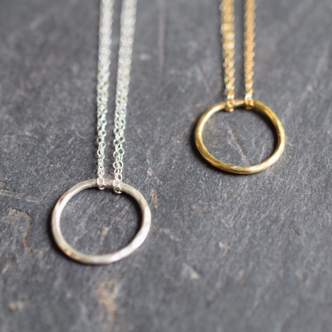 Circle necklace - product images  of