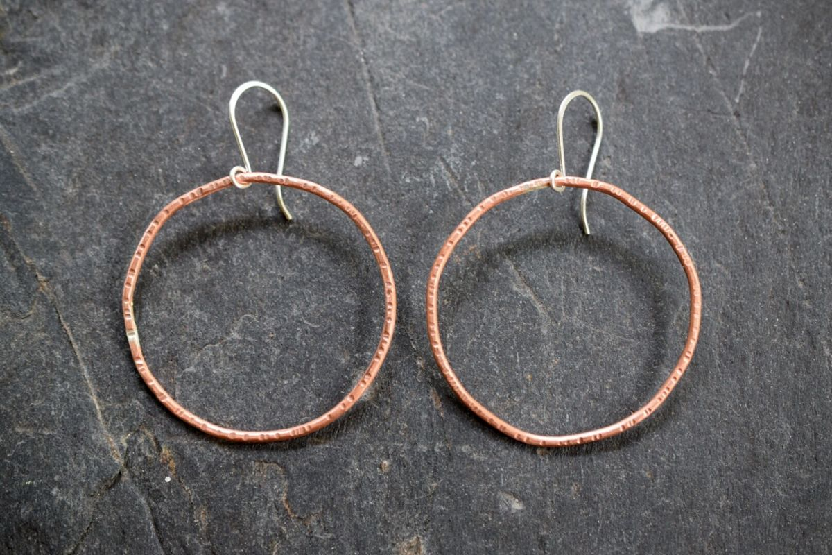 Large Circle Earrings - product images  of