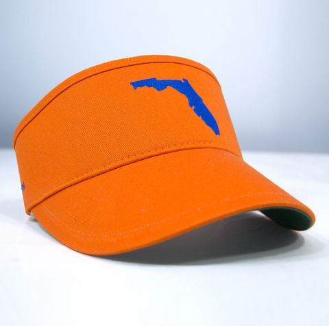 Florida,Visor,(Orange),Florida Visor, Gators