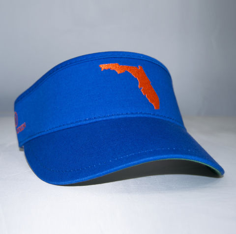 Florida,Visor,(Blue),Florida Visor, Gators