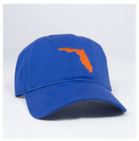 Florida,Hat,(Blue),Florida Hat, Gators