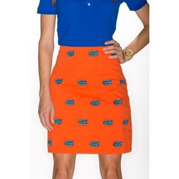 Florida,Stadium,Skirt,-,Orange,UF Gators Skirt