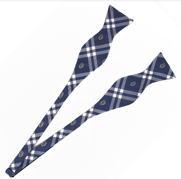 Blue Plaid Bow Tie - product image