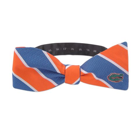Gators,Stripe,Bow,Tie,Gators Stripe Bow Tie