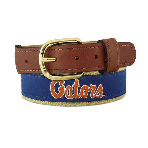 Gator,Logo,Men's,Belt,Gator Belt