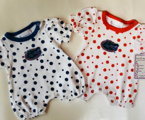 Gator,Onesie,-,Polka,Dot,Gator Dress - Kids