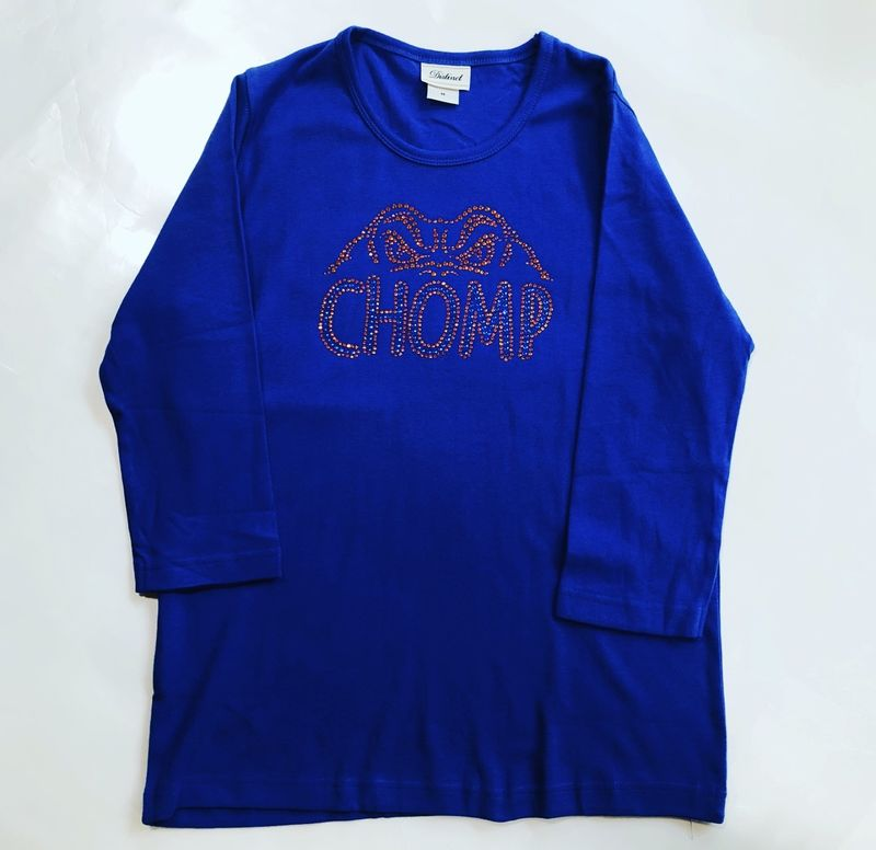 Blue Chomp Long Sleeve Top - product images  of