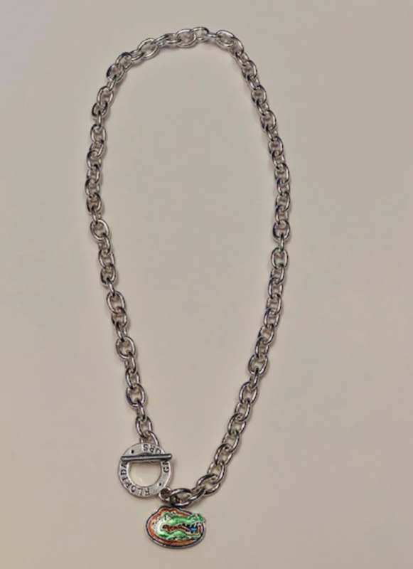 Silver Logo Necklace - product image