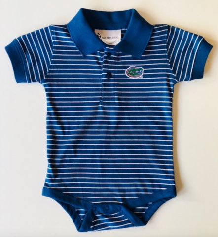 Royal/White,Striped,Onesie,Kids Apparel