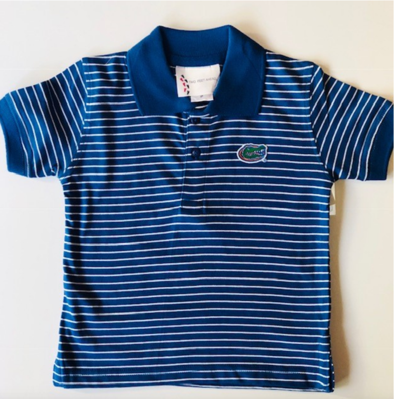 Kids Blue Polo - product image