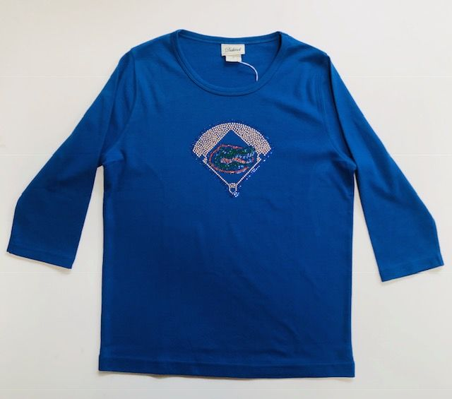 Blue Baseball Top - product image