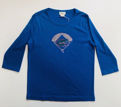 Blue,Baseball,Top,Blue Baseball Top
