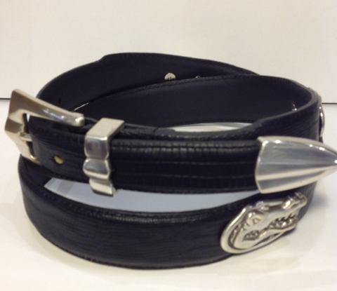 Florida,Gators,Black,Leather,Belt,Leather Belt