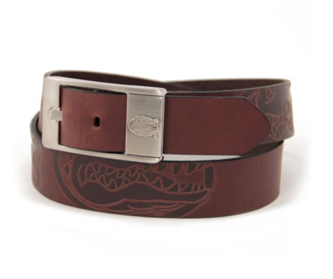 Florida,Gators,Brandish,Belt,Leather Belt