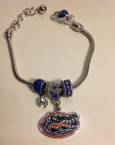 Florida,Logo,Dangle,Bracelet,Florida Logo Dangle Bracelet
