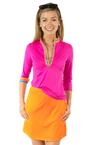 Jersey,Skippy,Skort,-,Solid,Orange,Jersey Skippy Skort
