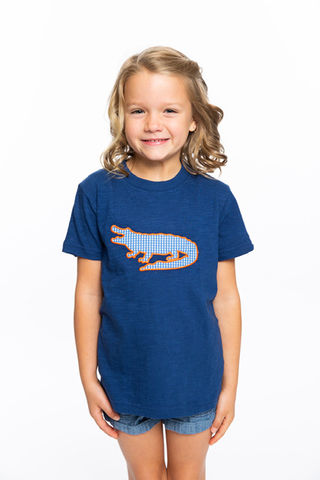 Gator,Applique,|,Unisex,Childs,Tee,Gator Applique | Unisex Childs Tee
