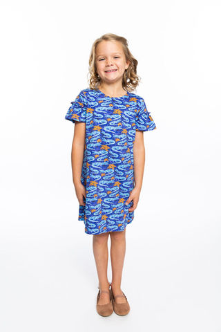 Girls,Dress,|,Gator,Print,Girls Dress | Gator Print
