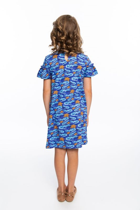 Girls Dress | Gator Print - product images  of