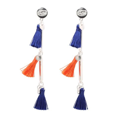 Florida,Gators,Women's,Melody,Tassel,Earrings,Florida Gators Women's Melody Tassel Earrings