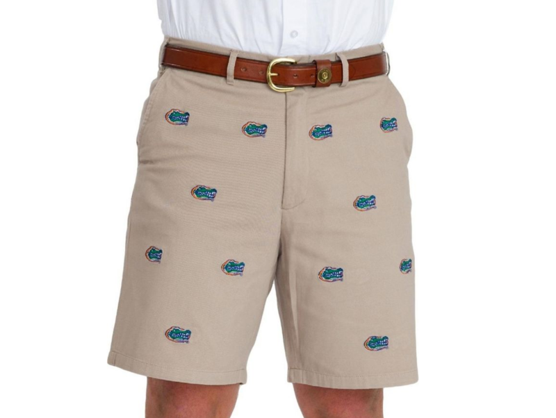 Florida Gators 'Gatorhead' Stadium Shorts - Khaki - product images  of