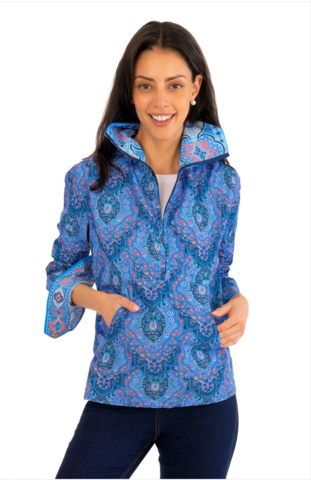 All,Weather,Jacket,-,Pleasantly,Paisley,All Weather Jacket - Pleasantly Paisley