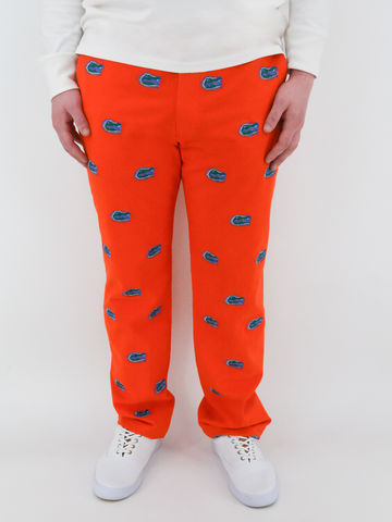 Florida,Gators,'Gatorhead',Stadium,Pants,-,Orange,Florida Gators 'Gatorhead' Stadium Pants